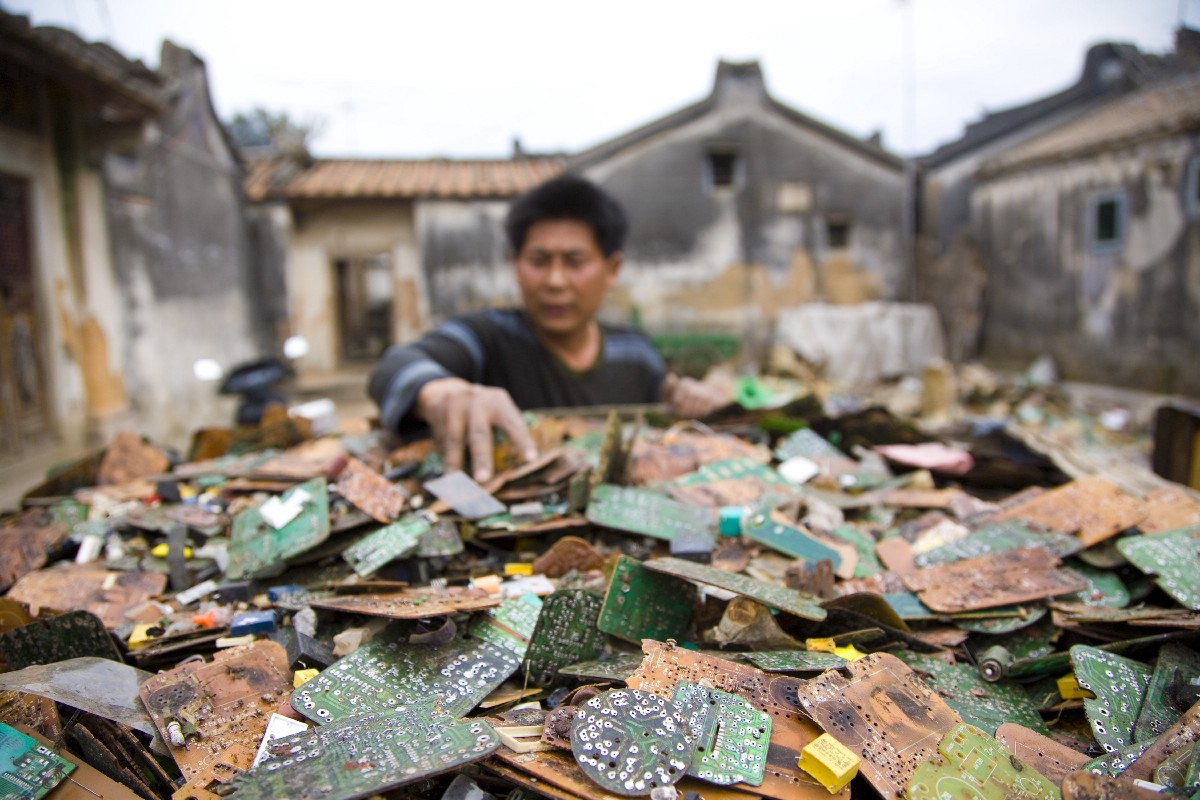 Printed Circuit Board Recycling Machines Factory View Printed Circuit