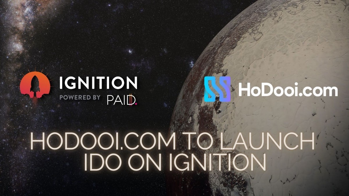 HoDooi.com will launch its IDO on Ignition!