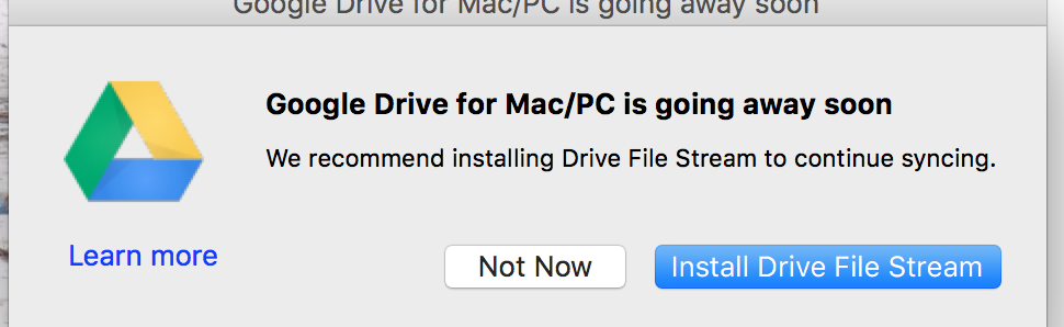 Google Drive for Mac/PC is Being Shut Down — Replaced with Drive