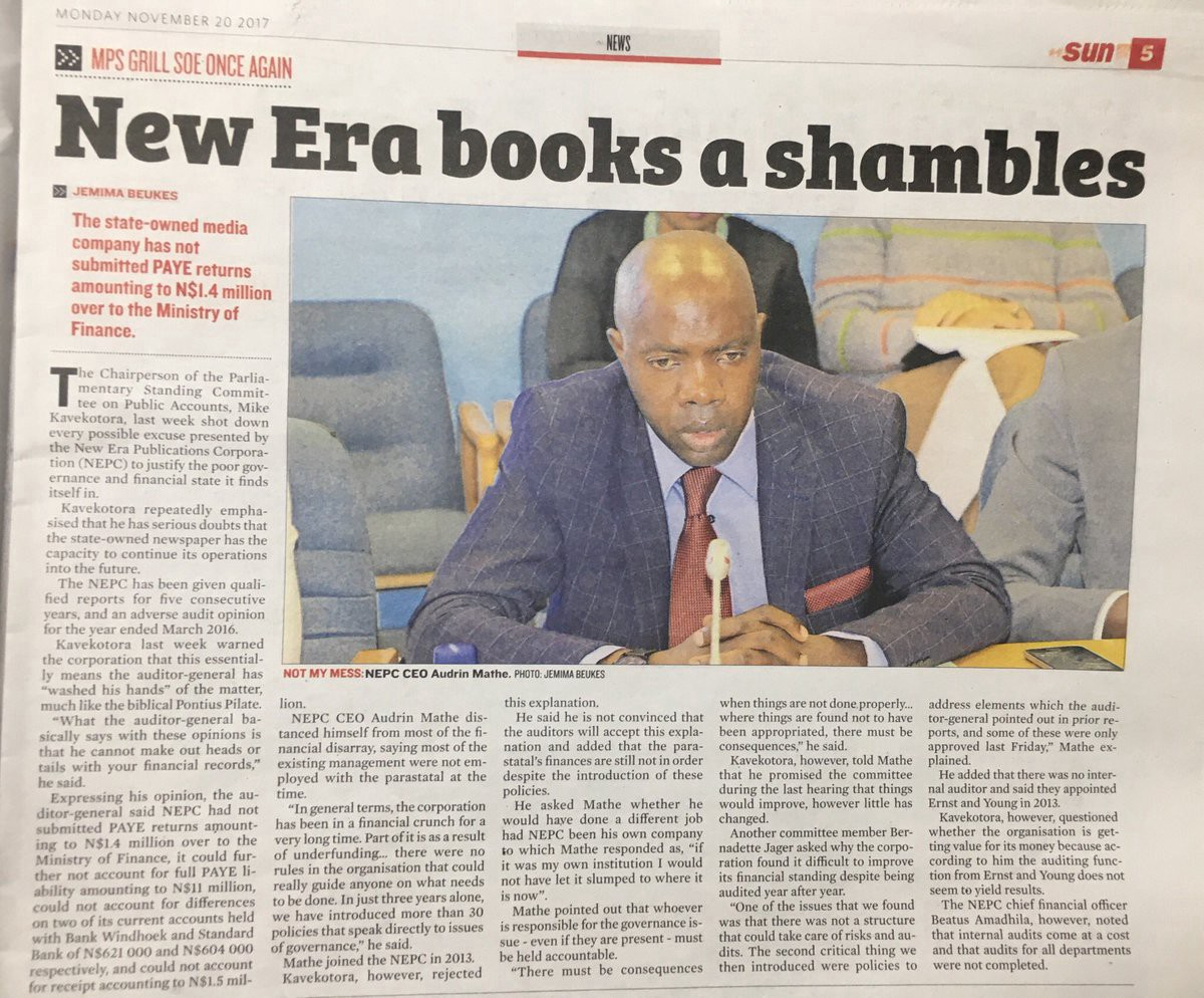 Dr Mathe under fire as 'bankrupt' New Era files fraud, theft