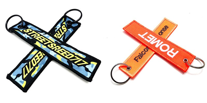 4809750d9f0 Custom embroidered key tags — a great gift - lanyard - Medium