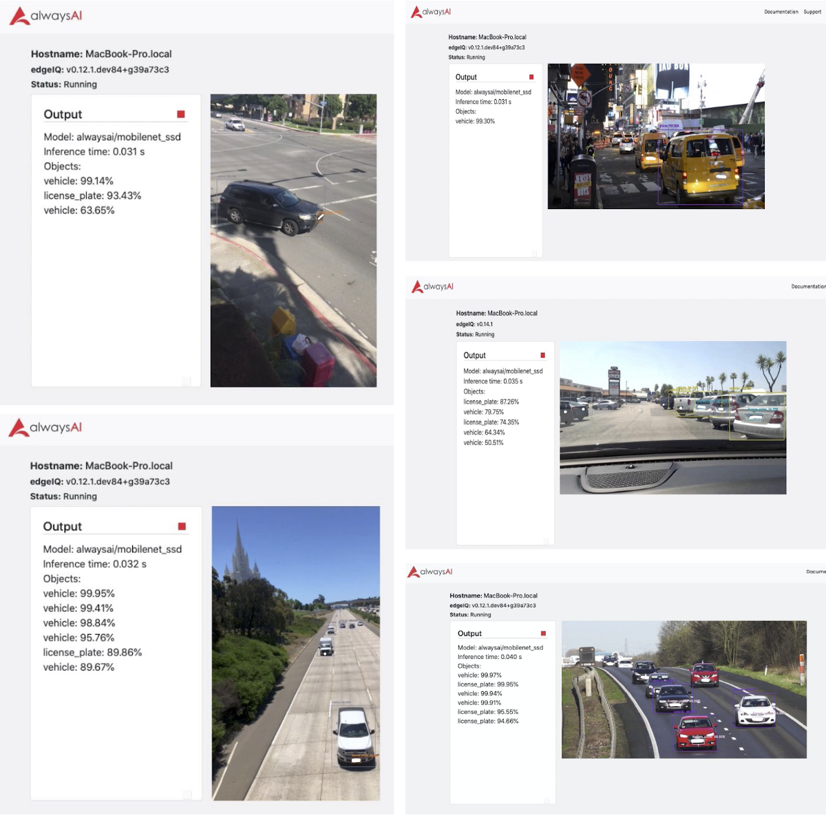 Using alwaysAI's Model Training Tool to Build a License Plate Tracker