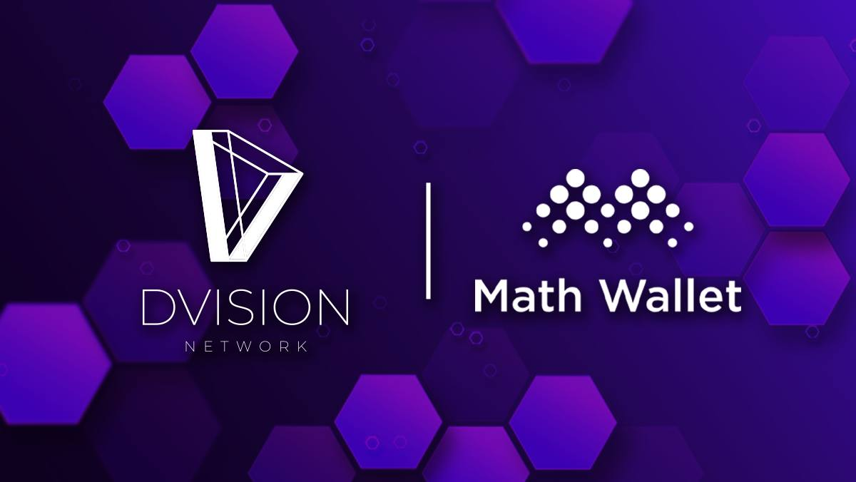 MathWallet partnered with Dvision Network t