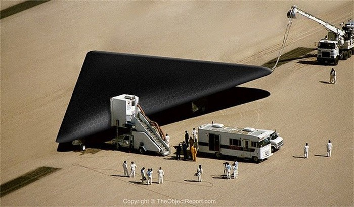 TR-3B Secret Plane | Top-Secret US Air Force Black Triangle