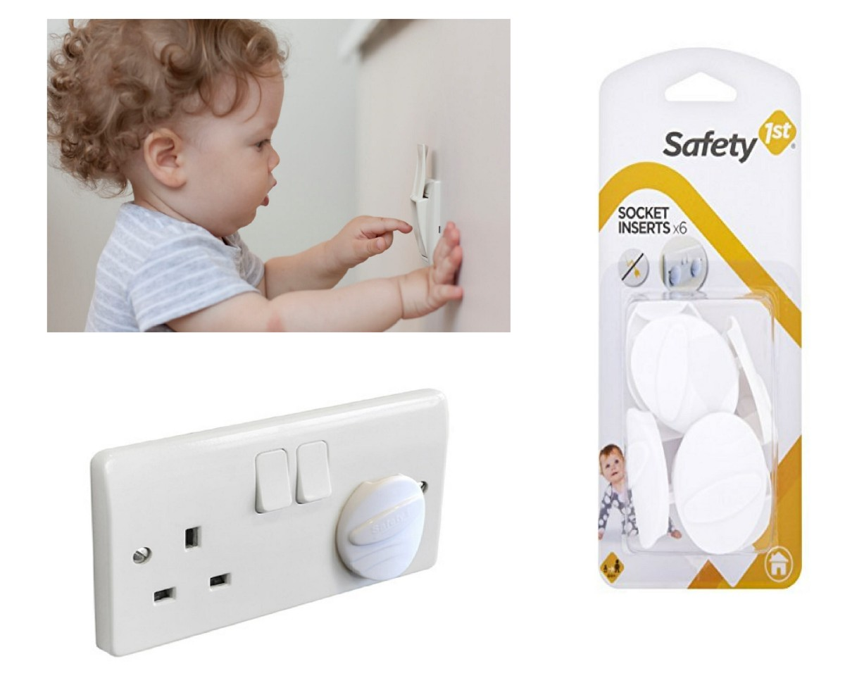 10pc Main Electrical Plug Socket Safety Cover Baby//child Safety Protector Uk