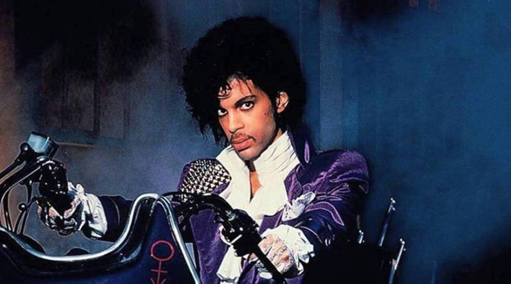 Prince Is In Heaven Laughing In The Purple Rain - Charles Tanzer
