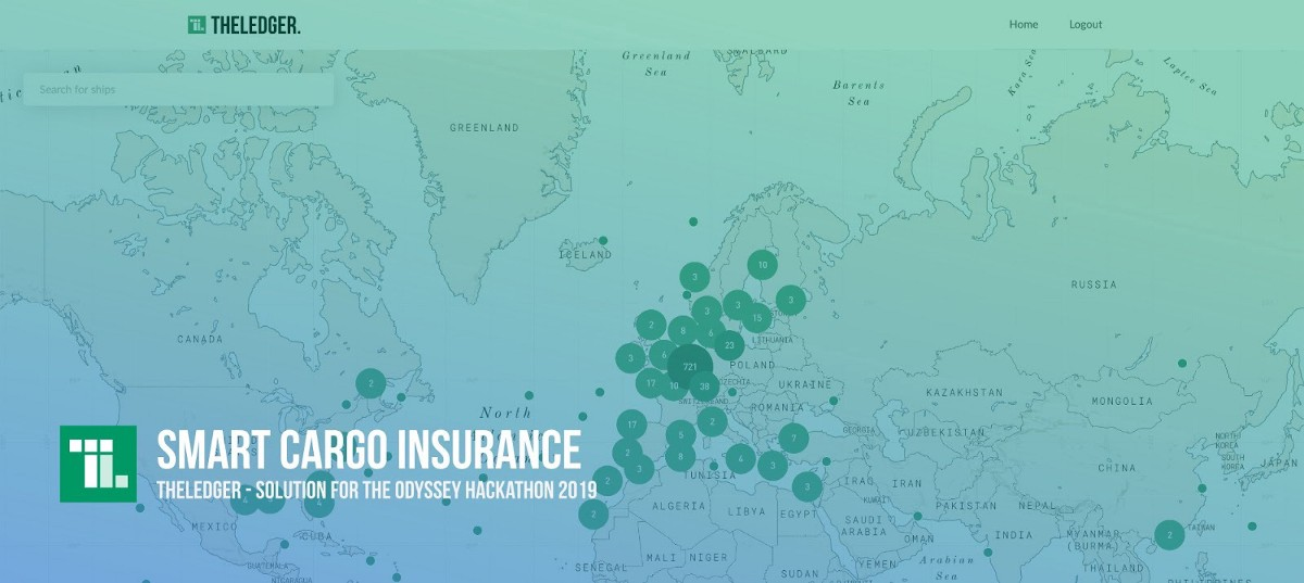 Smart cargo insurance—Solution for the Odyssey hackathon 2019