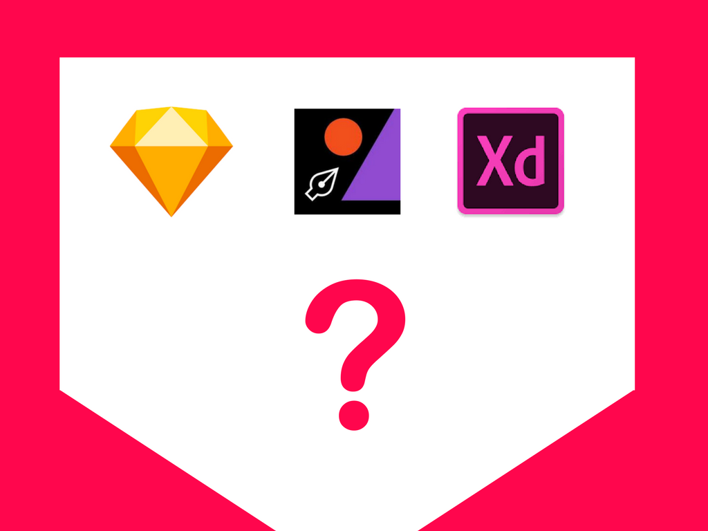 Which UI Design Tool to choose — Sketch, Figma or Adobe XD
