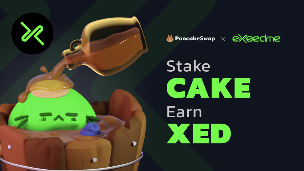 PancakeSwap Welcomes Exeedme to Syrup Pool!
