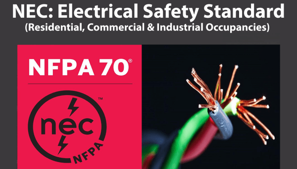 nec electrical safety standard NFPA 70