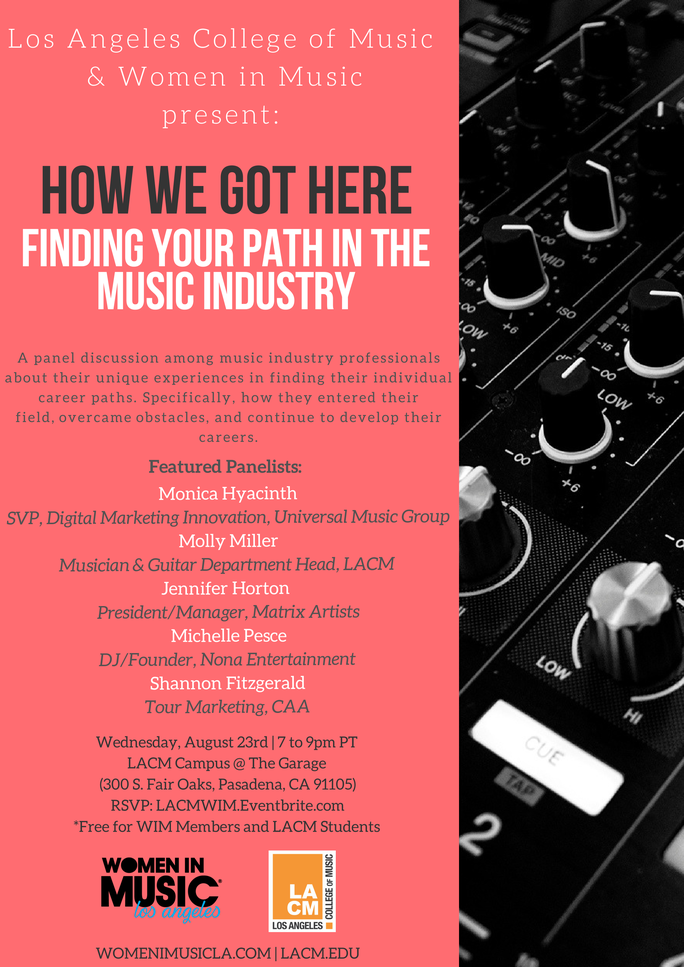 HOW WE GOT HERE — FINDING YOUR PATH IN THE MUSIC INDUSTRY