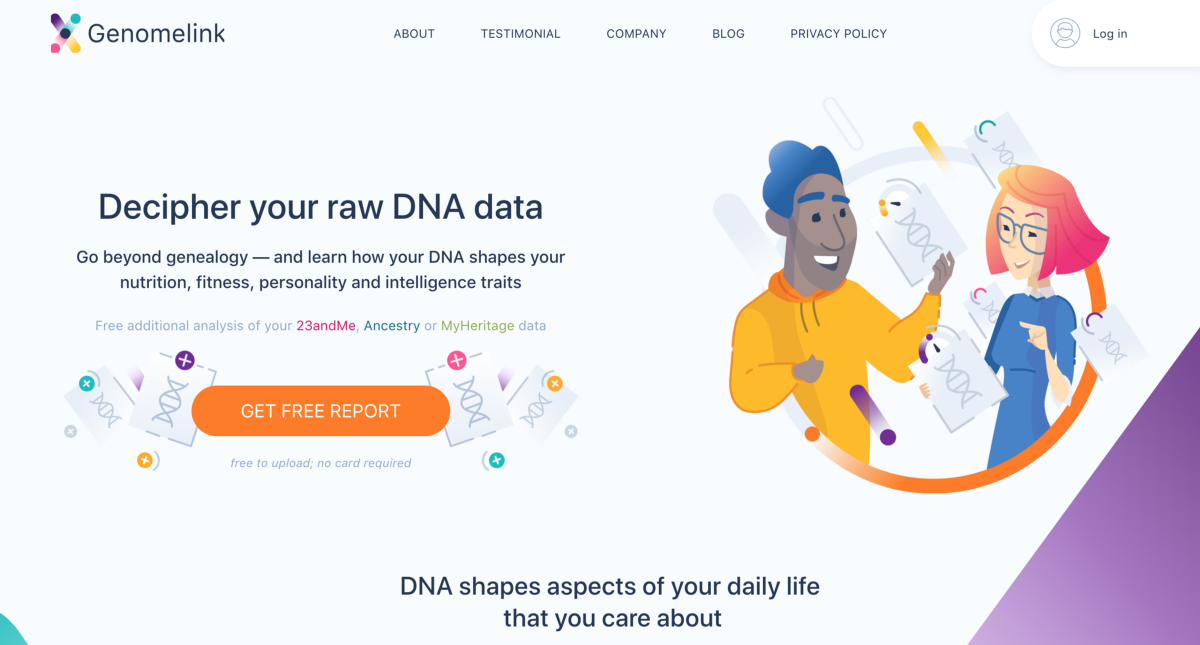Let Your DNA Link With The Latest Genomics Science And