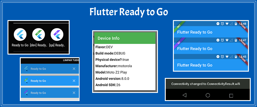 Flutter Ready to Go (flavors, connectivity and more)