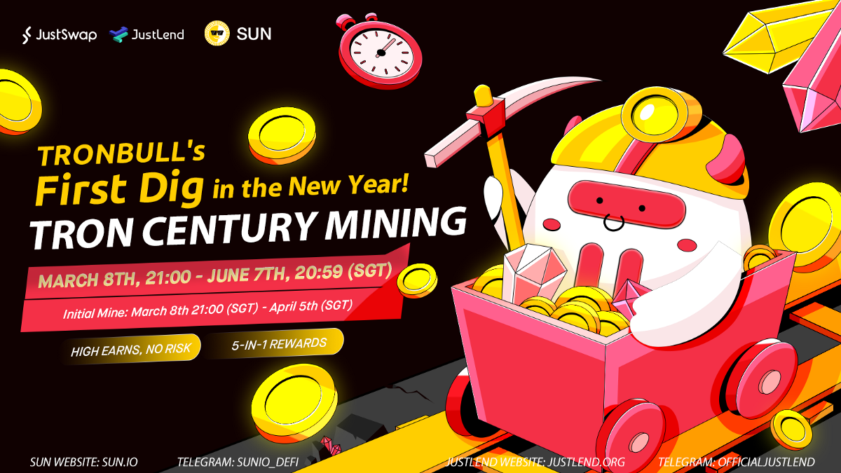 Update to TRON Century Mining: 5-in-1 Mining (March 5th, 2021)