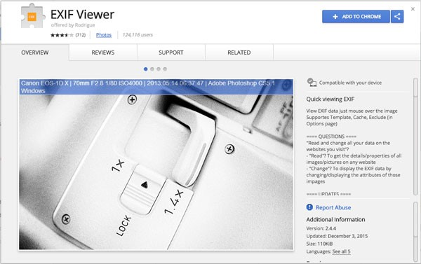 Updated] Best EXIF Viewer for Windows/Mac/Google You Can Try