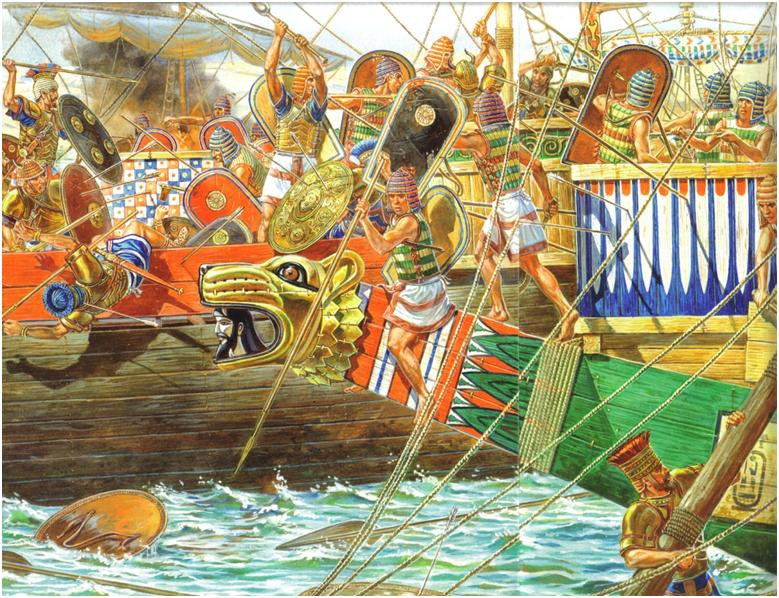 The Ships of the Sea Peoples — Part 2 - lakodaemon - Medium