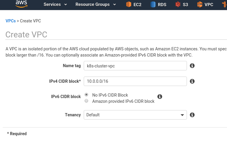 Kubernetes: part 2—a cluster set up on AWS with AWS cloud-provider and AWS LoadBalancer