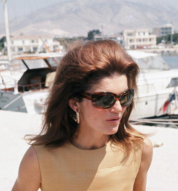 What Jackie Kennedy looked through