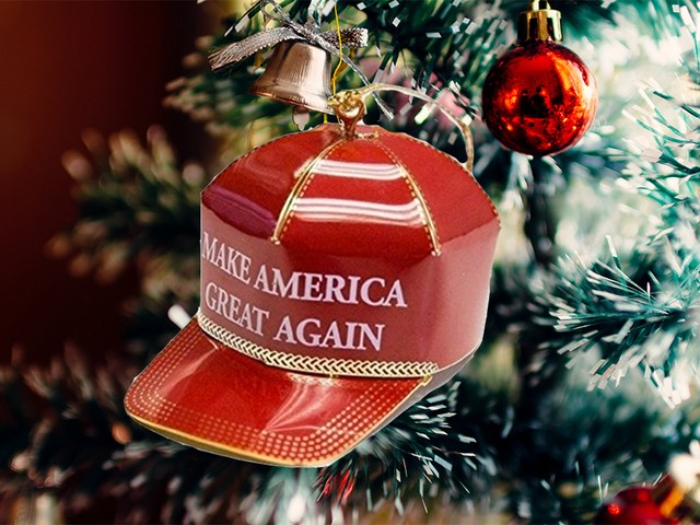 Overly Christmas.Trump S Battle To Make America Say Merry Christmas Again