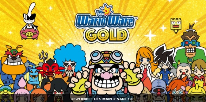 Is it possible to play WarioWare Gold for free on Nintendo 3DS V11 8?