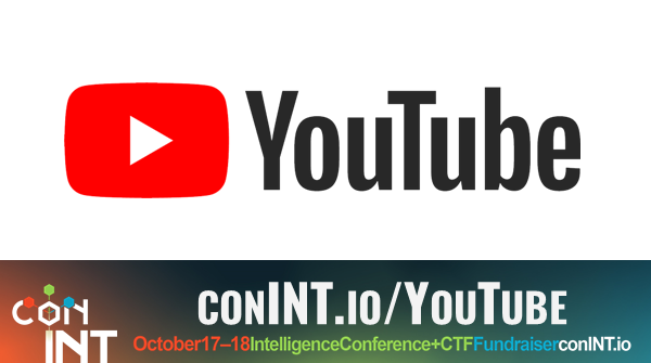 The conINT YouTube channel and logo