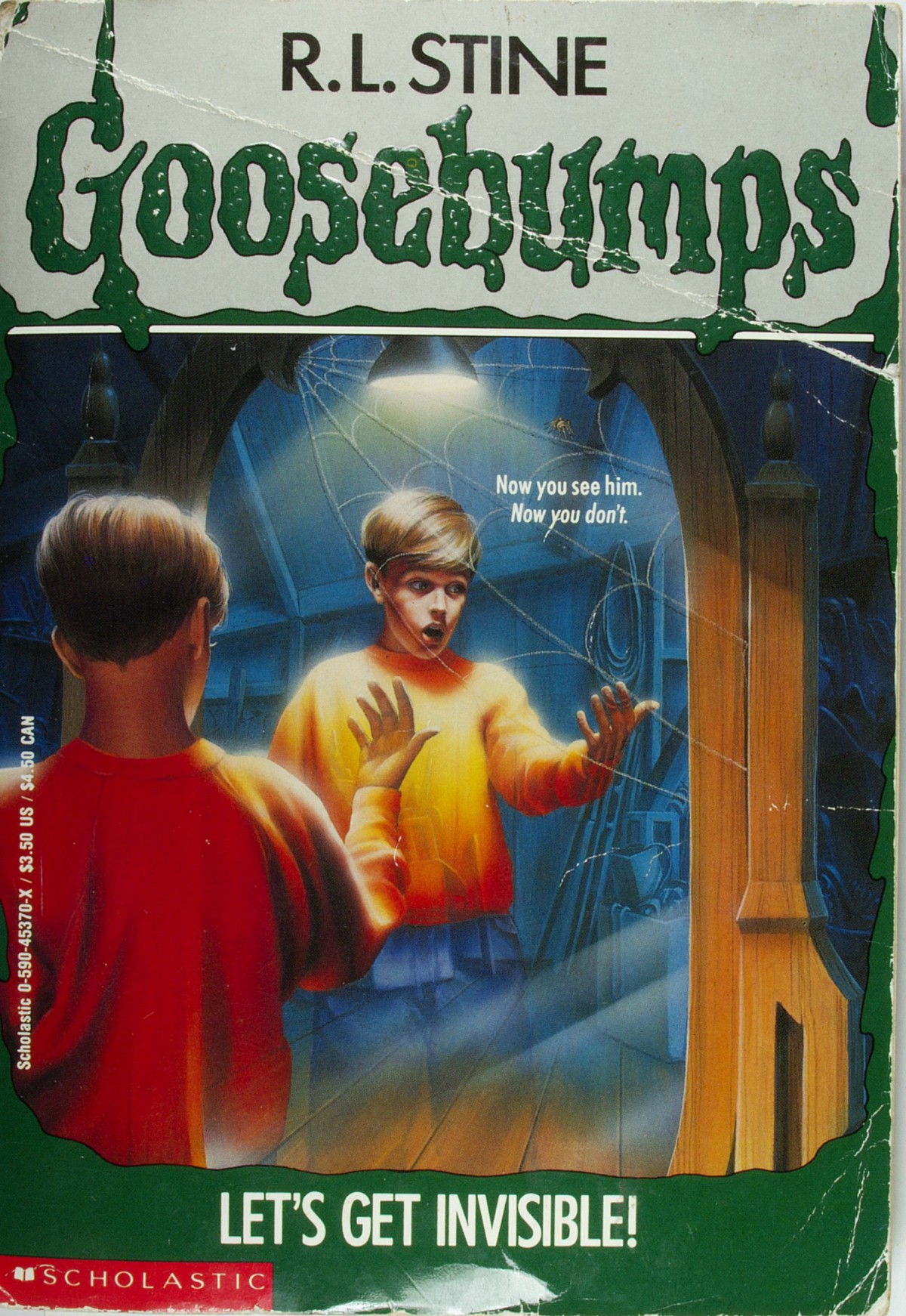 6: Let's Get Invisible! - The Goosebumps Project - Medium