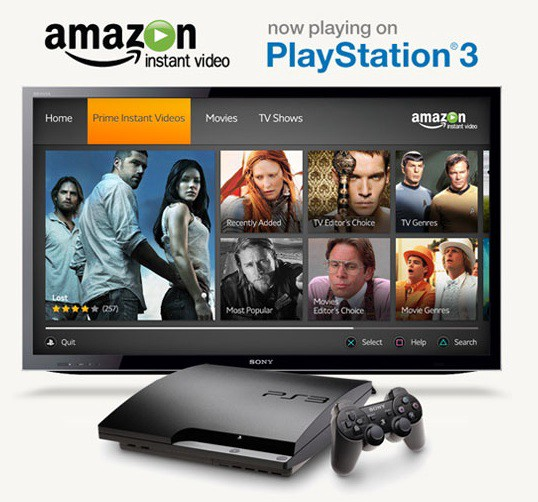 Amazon Instant Video Launches For The Playstation 3 By Sohrab Osati Sony Reconsidered