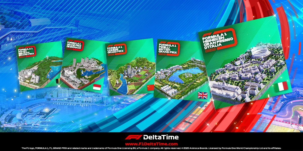F1® Delta Time Formula 1 Event Rare segments are here—Taking NFT ownership to the next level!