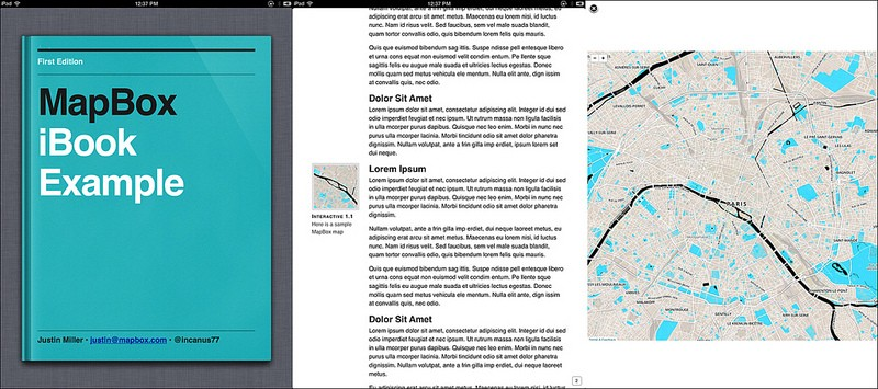 Experimenting With iBooks Author and Widgets - Points of