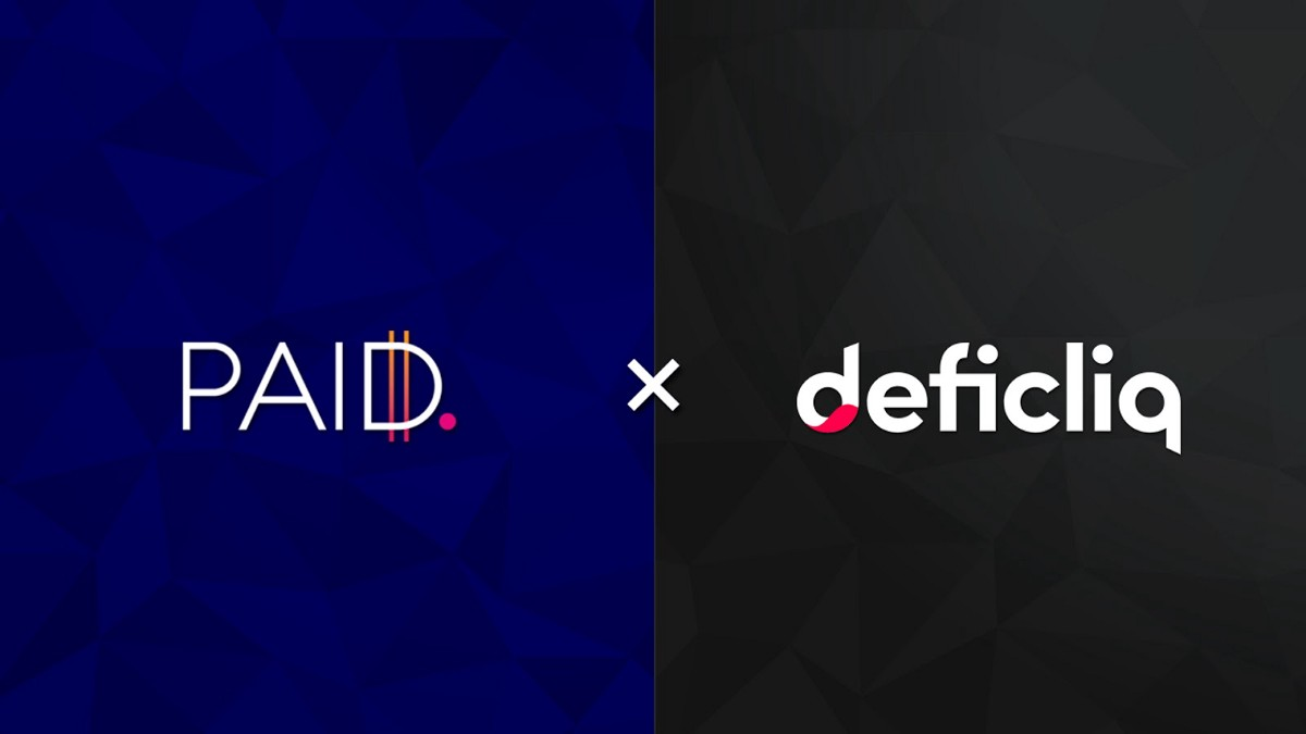 PAID Network Forms Partnership With DefiCliq