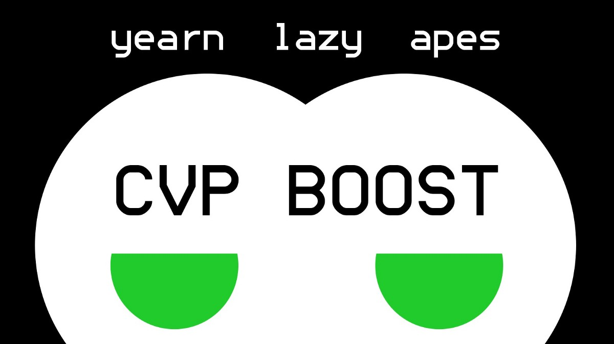 Yearn Lazy Ape CVP Boost Announcement