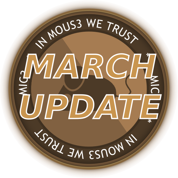 Mousecoin March 2020 Update