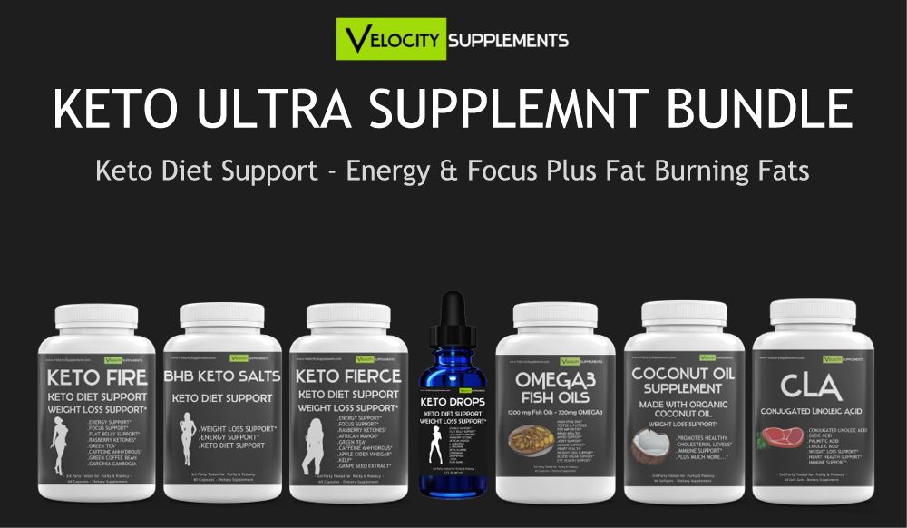 Keto ULTRA Weight Loss Supplement Kit - Velocity Supplements