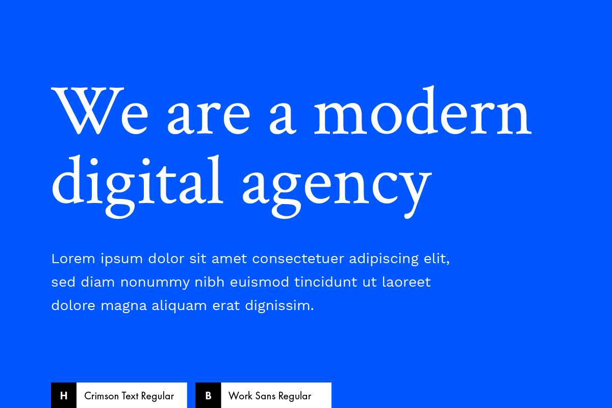 10 'Fail Proof' Google Fonts Combinations… that work!