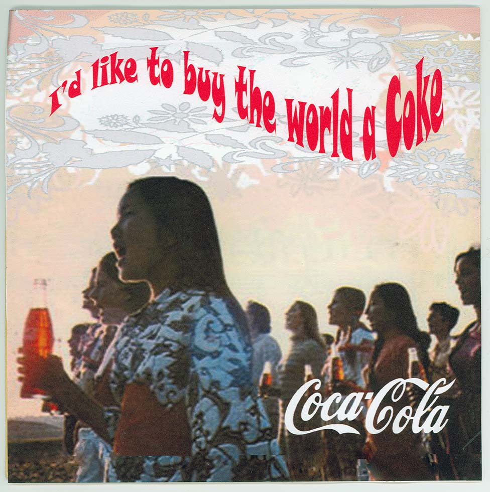Image result for coke teach the world to sing