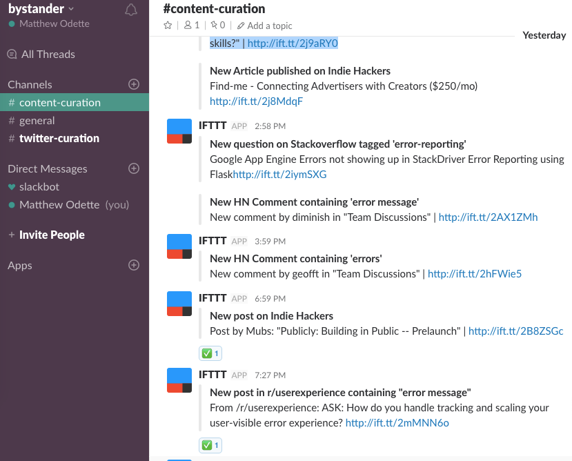 How to find and engage your audience with Slack and IFTTT
