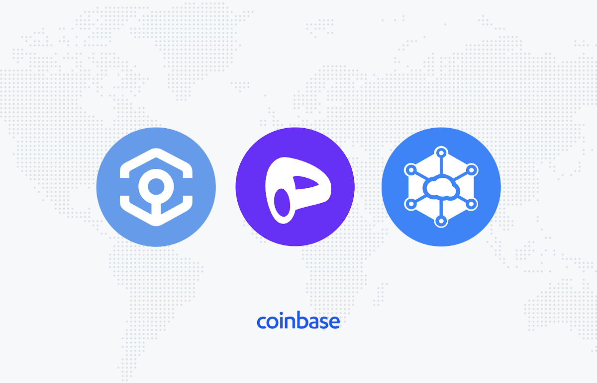 Ankr (ANKR), Curve DAO Token (CRV) and Storj (STORJ) are now available on Coinbase