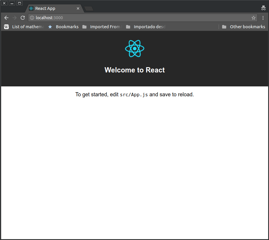 React in Docker with Nginx, built with multi-stage Docker builds