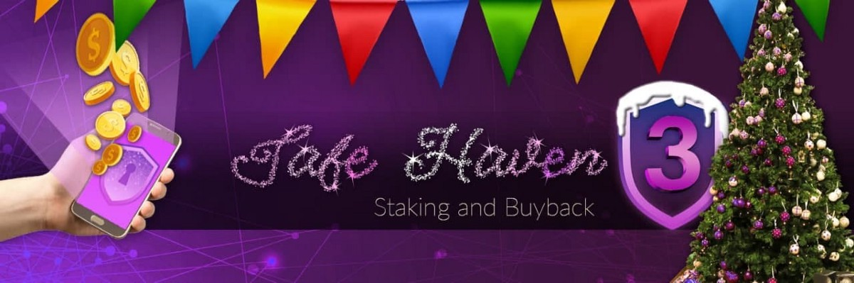 We welcome The Great Safe Haven Staking and Buyback Program, a year-long program that is tailored…