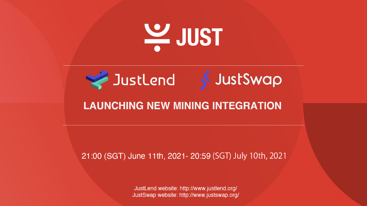 Announcement on the Conclusion of TRON Century Mining and New Mining Integration Launch on JustLend…