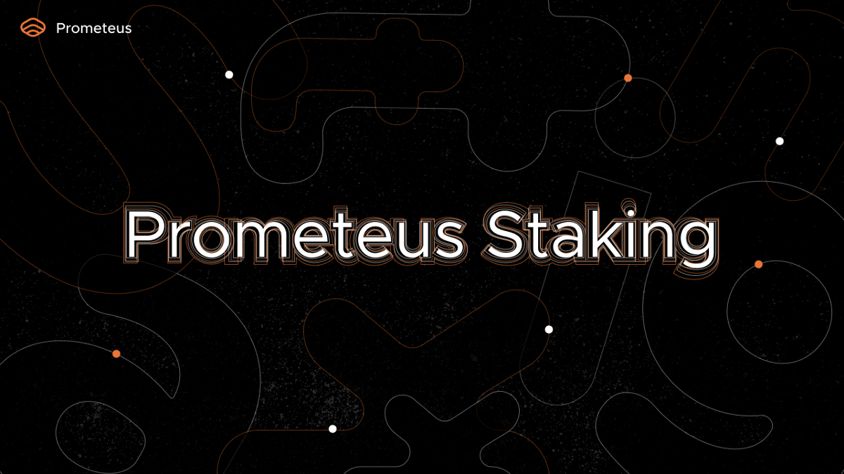 $PROM staking finally goes live!