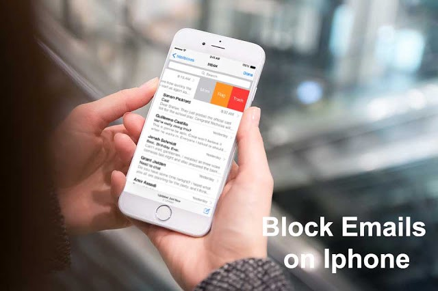 How to block emails in gmail on ipad