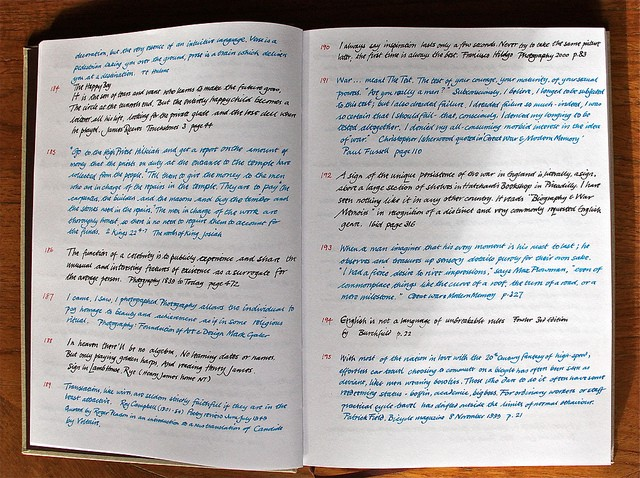 The Commonplace Book As A Thinker S Journal Critical Margins
