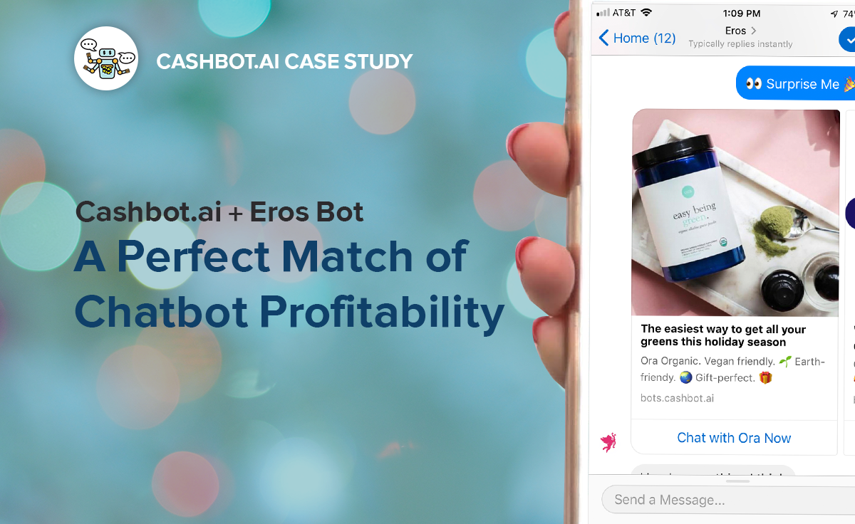 CASE STUDY: Cashbot ai & Chatfuel turn Experience based Chatbot into