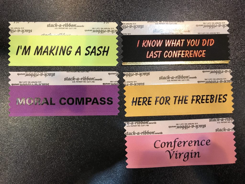 Trade Show Marketing Tip: Custom Badge Ribbons - Nick Gray - Medium