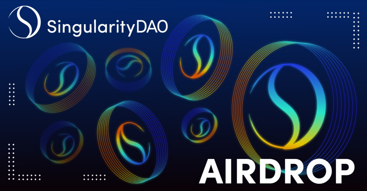 Announcing Airdrop For AGI Token Holders