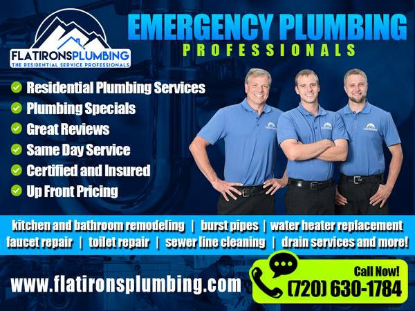 Lakewood Plumber on Call! Affordable Plumbers! Emergency Plumbing