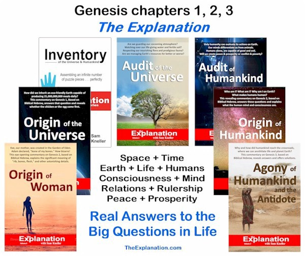 Mystery solved. Genesis 1–3 reveals real answers to the big question. The Bible is relevant to the 21st century.
