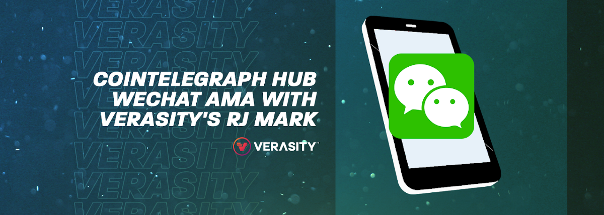 Cointelegraph HUB WeChat Group AMA with RJ Mark