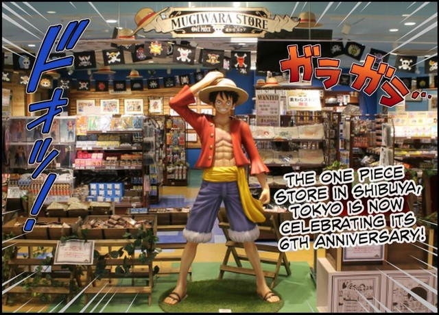 Anime City On The Trail Of Treasure At Tokyo S One Piece Store
